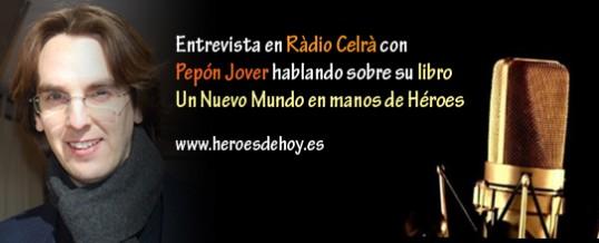 Audio de la entrevista en Ràdio Celrà con Pepón Jover